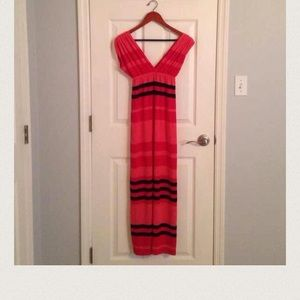Dresses & Skirts - Form fitting striped maxi.