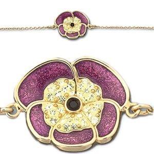 Swarovski Noisette Pansy Bracelet