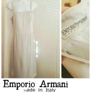 Emporio Armani * Silver dress* Sz 6  IT 42