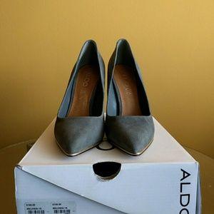 ALDO Grey Heel