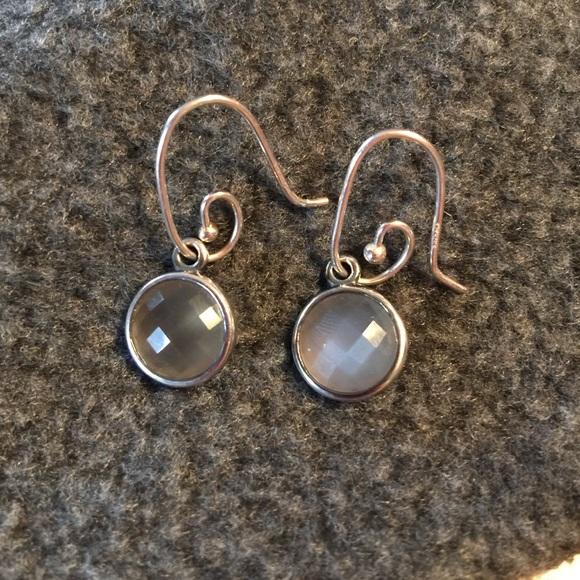 Pandora Moonstone Earrings: Pandora Moonstone Earring Charms