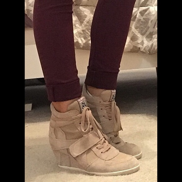 Shoes   Ash Bowie Wedge Sneaker   Poshmark