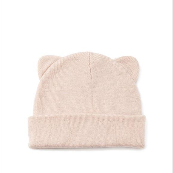 Blush Pink Cat ear Beanie 5569c6c9f6d1