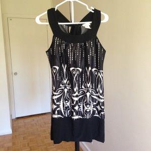 Dresses & Skirts - 2 for $15  Black White Mini Dress , size: Large