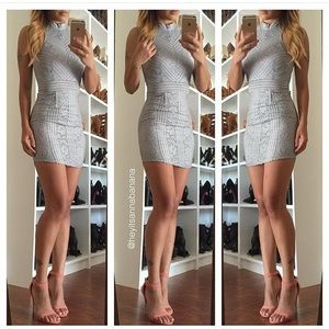 Dresses & Skirts - Grey halter neck dress