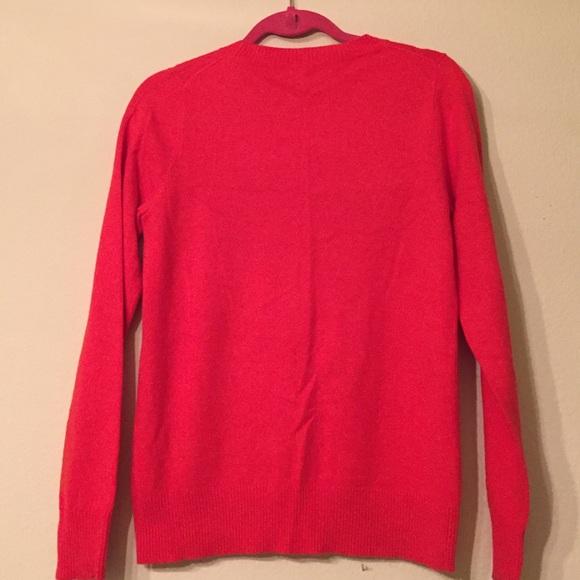 J. Crew Sweaters - J.Crew Red Heart Sweater Size S