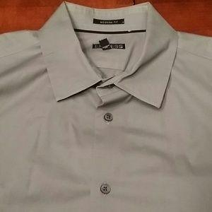 Express Modern Fit button down shirt