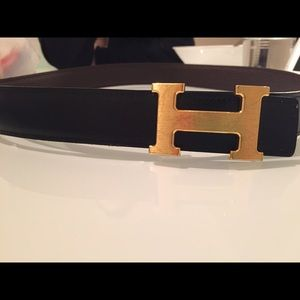 hermes belt buckle gold