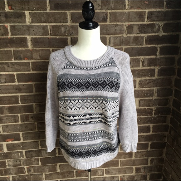 82% off Old Navy Sweaters - [old navy] fair isle sweater from ...