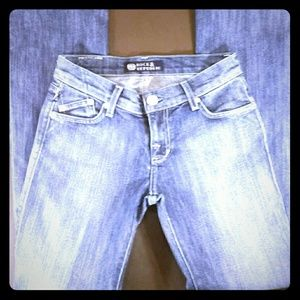 Rock Republic Light Wash Boot Cut Blue Jeans 26/31