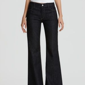 7 For All Mankind 'Ginger' Wide Leg Stretch Jeans