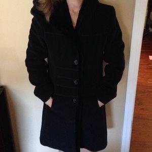 Beautiful 💋worn 1 dress coat slimming silhouette