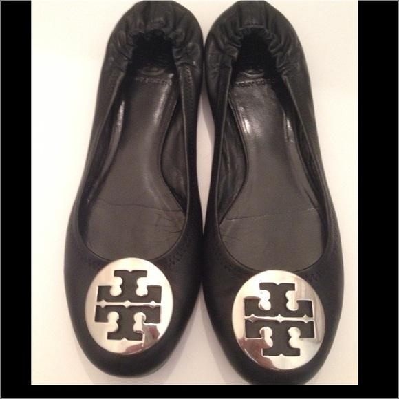 de14e9958aefe6 ... Black Tory Burch Reva Ballet Flats. M 56474b0bb4188eff910081ff