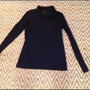 GAP Tops - Gap Fit Black Half Zip