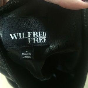 ac044b531cc6b8 Wilfred Free Pants - Wilfred free Daria pant vegan leather leggings
