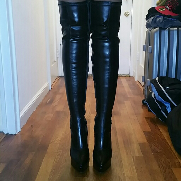 60% off Pleaser Shoes - Women's size 12 med. Pleaser Thigh High ...