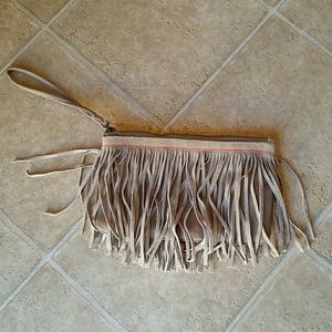 American Eagle Outfitters Fringe Clutch