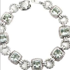 David Yurman Jewelry - David Yurman Prasiolite bracelet