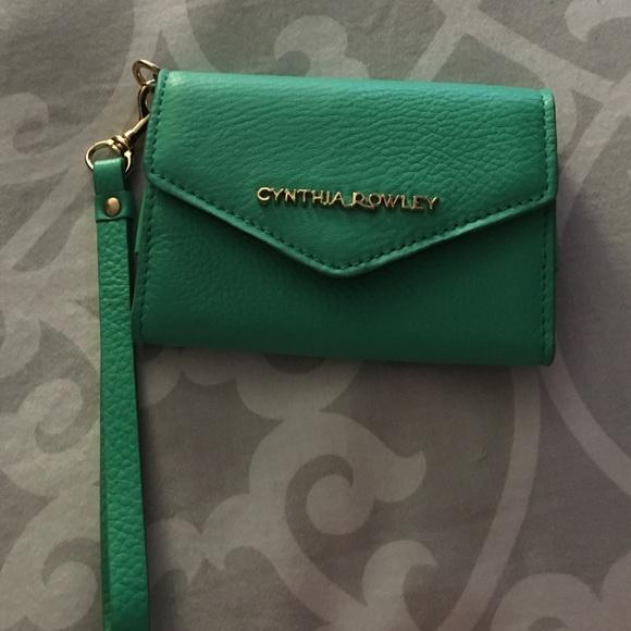 1459070026ec42 Cynthia Rowley Accessories | Green Iphone 5 Wristlet Wallet | Poshmark