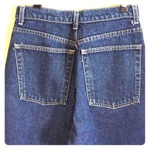American Apparel Classic High Waist Denim Jeans