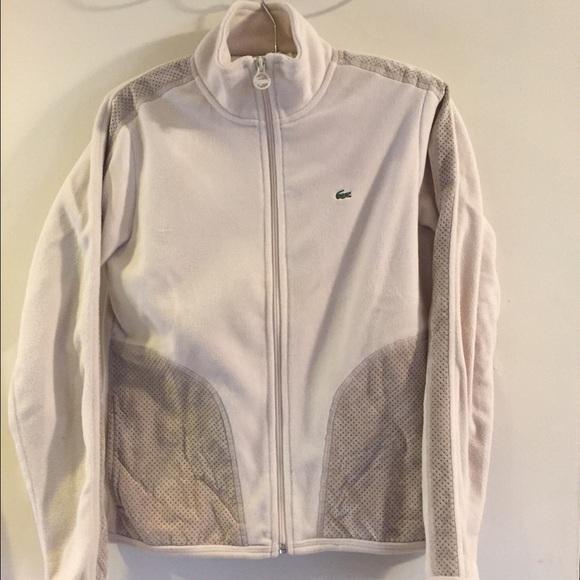 Lacoste Jackets & Blazers - Lacoste fleece track jacket