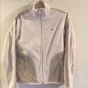 Lacoste Jackets & Coats - Lacoste fleece track jacket