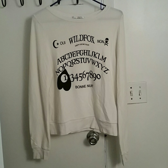 e07d3d4b84 Wildfox Tops | Rare Ouija Girl Baggy Beach Jumper | Poshmark