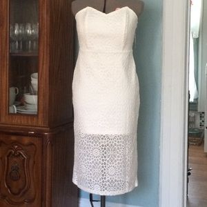 Forever21 knee length dress in size L