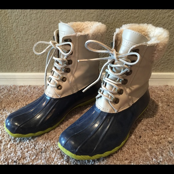 J Crew Sperry Top Sider Shearwater Duck