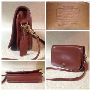 Coach Handbags - Vintage Coach 1970's Penny Crossbody Bag Brown