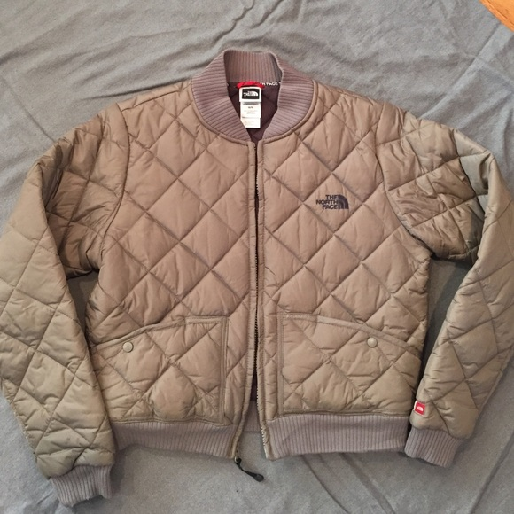 The North Face Jackets Coats North Face Quilted Bomber Jacket