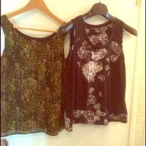 2 tops size small Valerie Stevens & Prabal Gurung