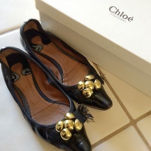 Chloe Shoes - ⬇️LOWEST! Chloe Patent pointed toe flats