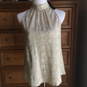 NWT Tinley Road gold top