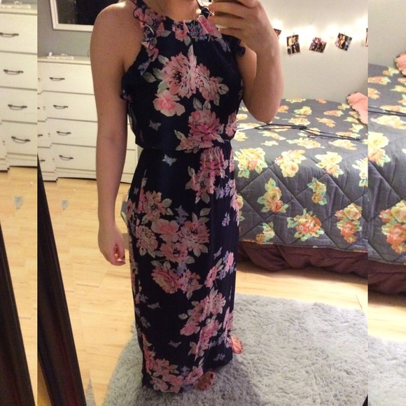 44% off Old Navy Dresses & Skirts - Old Navy floral maxi dress ...