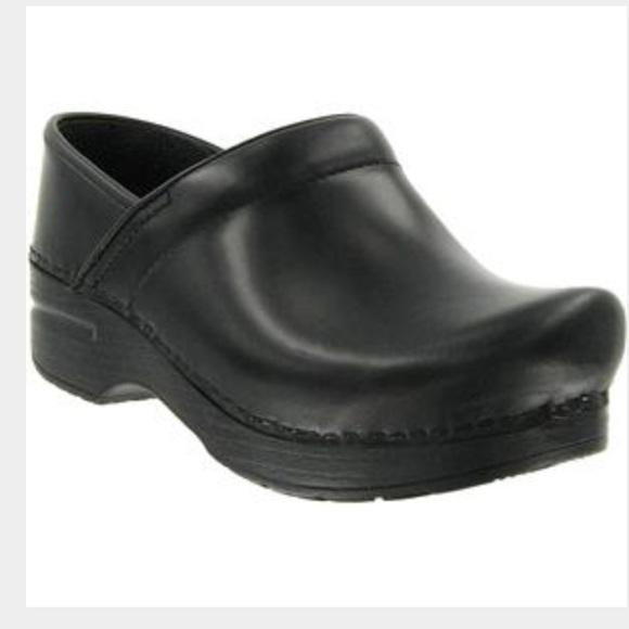 Dansko Sam Shoes Black Knit
