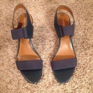 Slate Blue Heels