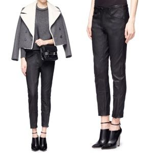 3.1 Phillip Lim Pants - 3.1 Phillip Lim Jodhpur Leather Pants