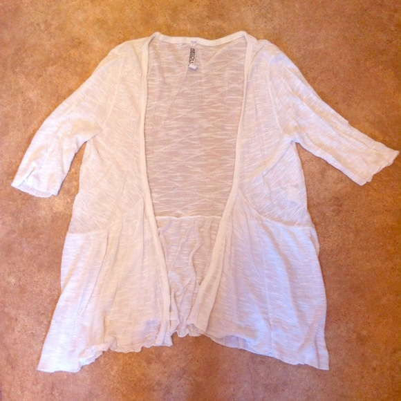 60% off Free People Sweaters - Nordstrom Absolutely White Flowy ...