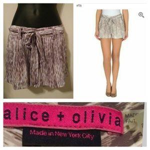 Amazing NWOT Alice and Olivia shorts!