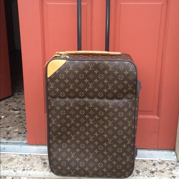 be05a7ab2d Authentic LV Monogram Pegase Legere 55 luggage