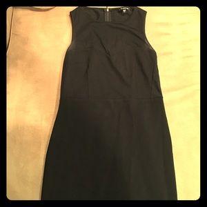 Bebe black dress with mesh top