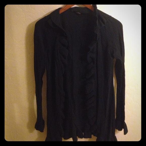 72% off INC International Concepts Sweaters - Dressy black ...