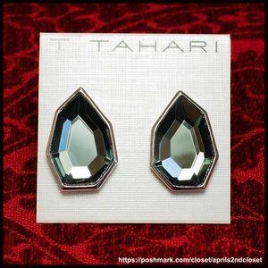 Tahari Jewelry - Tahari Clip On Black Earrings