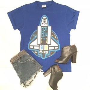 Billionaire boys club Tops - BBC BILLIONAIRE BOYS CLUB S9 SPACE SHIP TEE!