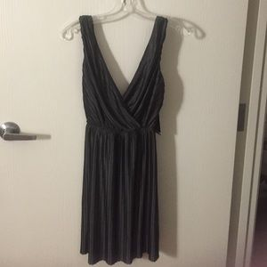 Express Dark Gray Evening Dress