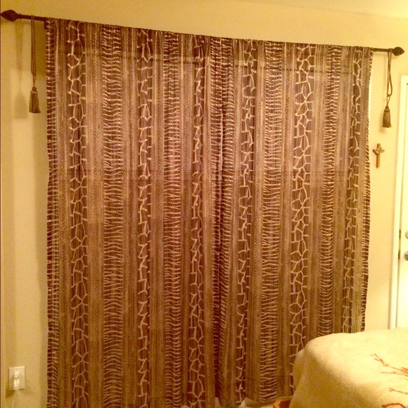 55% off Anna's Linens Other - beautiful print curtains! 😊 from ...