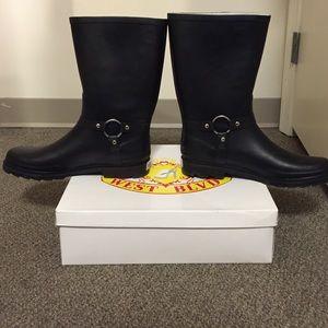 9f754ac8c9c23 West Blvd Shoes - West Blvd Women s Mid Calf Waterproof Rain boots.