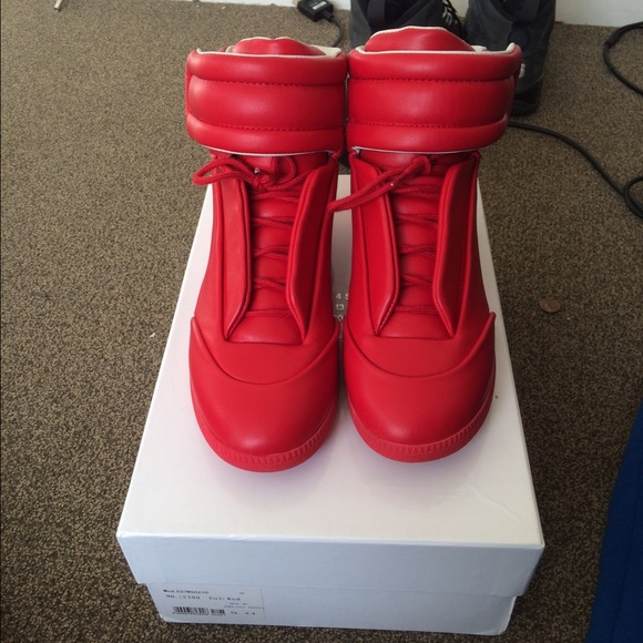 Maison Martin Margiela Shoes - Red Maison Martin Margielas 07600102a