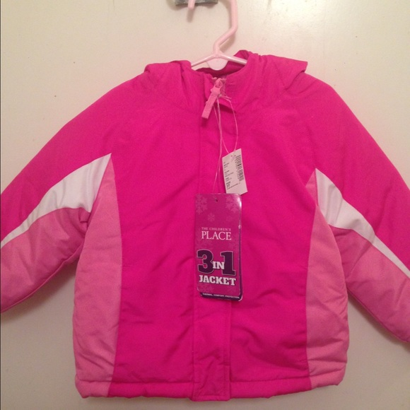 29% off Other - Children's place Girls winter jacket 3 in 1 from ...